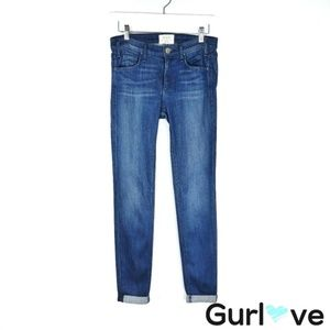 McGuire Pirell iSkinny Ankle Roll Jeans Size 25